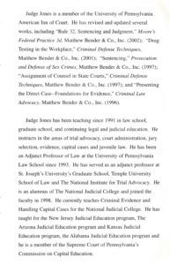 Seventh page of the Jones program pamphlet.
